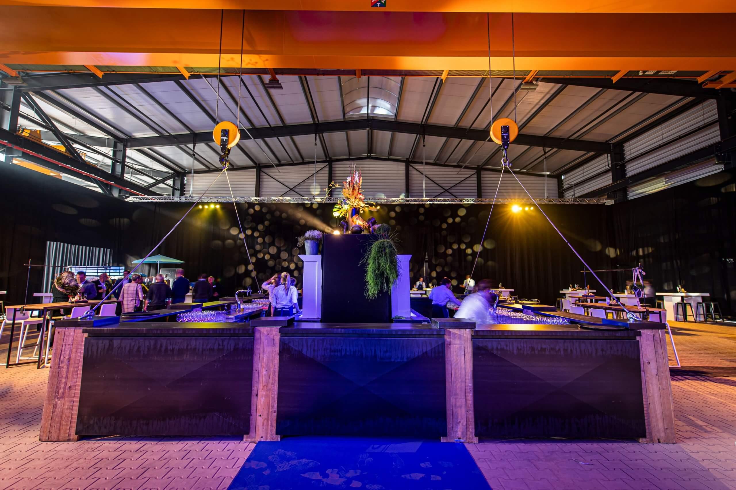 de commanderie, catering, evenementenbureau tilburg, feest op locatie